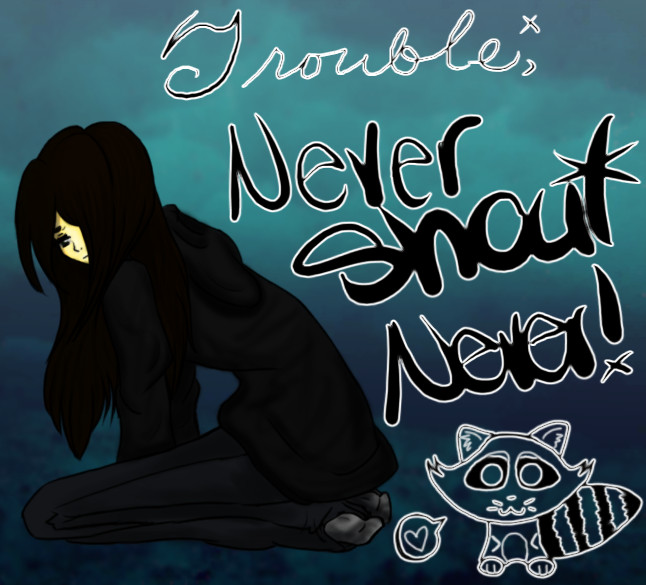 :.Trouble.:-Never Shout Never- by KuroiKyuu on DeviantArt