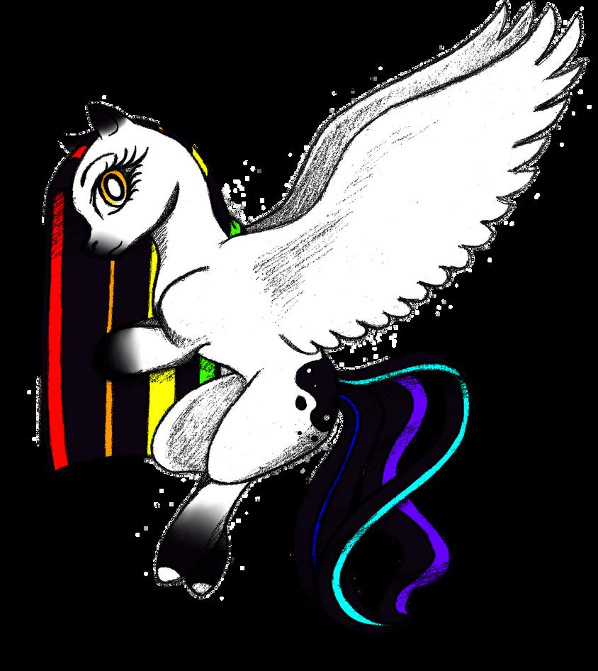 Rainbow Greyscale by KuroiKyuu