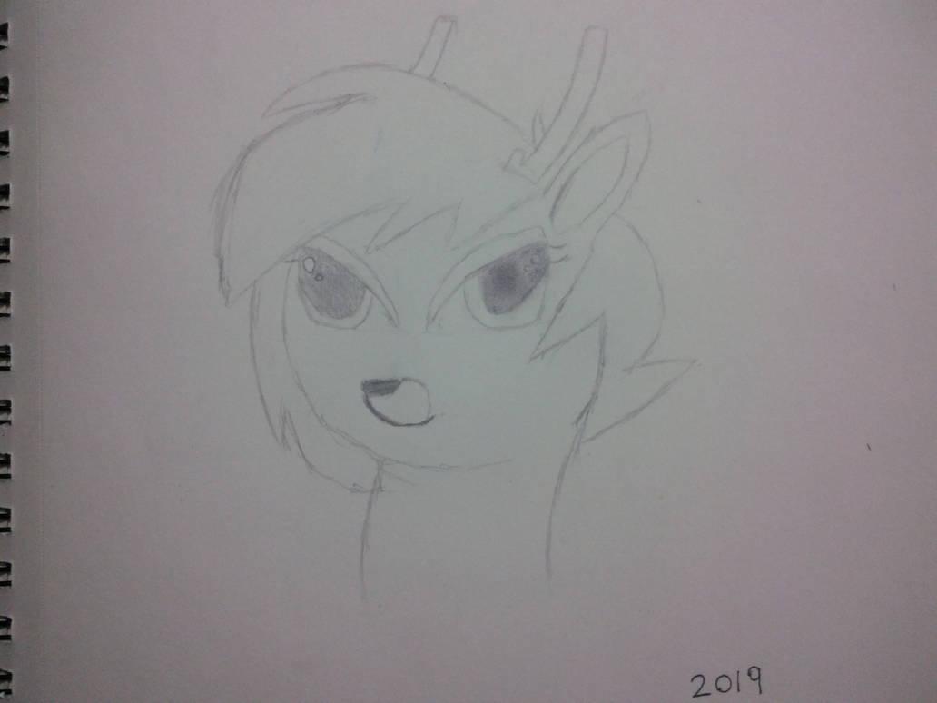 Hazelnut portrait by CyberChangeling