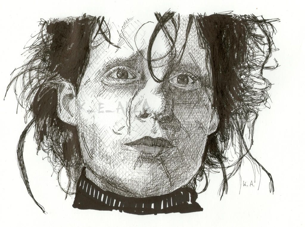 Edward Scissorhands by katr14