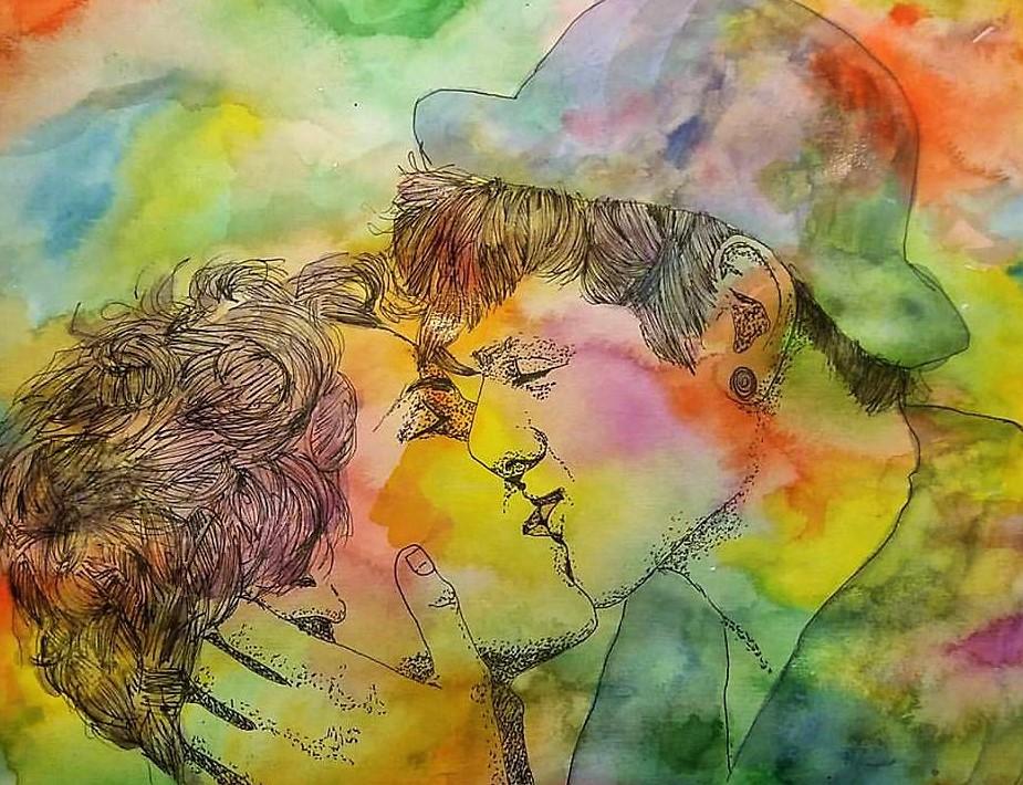 First kiss by katr14