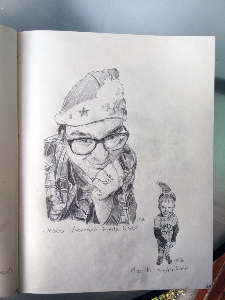 Sketchbook 2018 page 20 by katr14