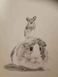 inktober day 6 rodent