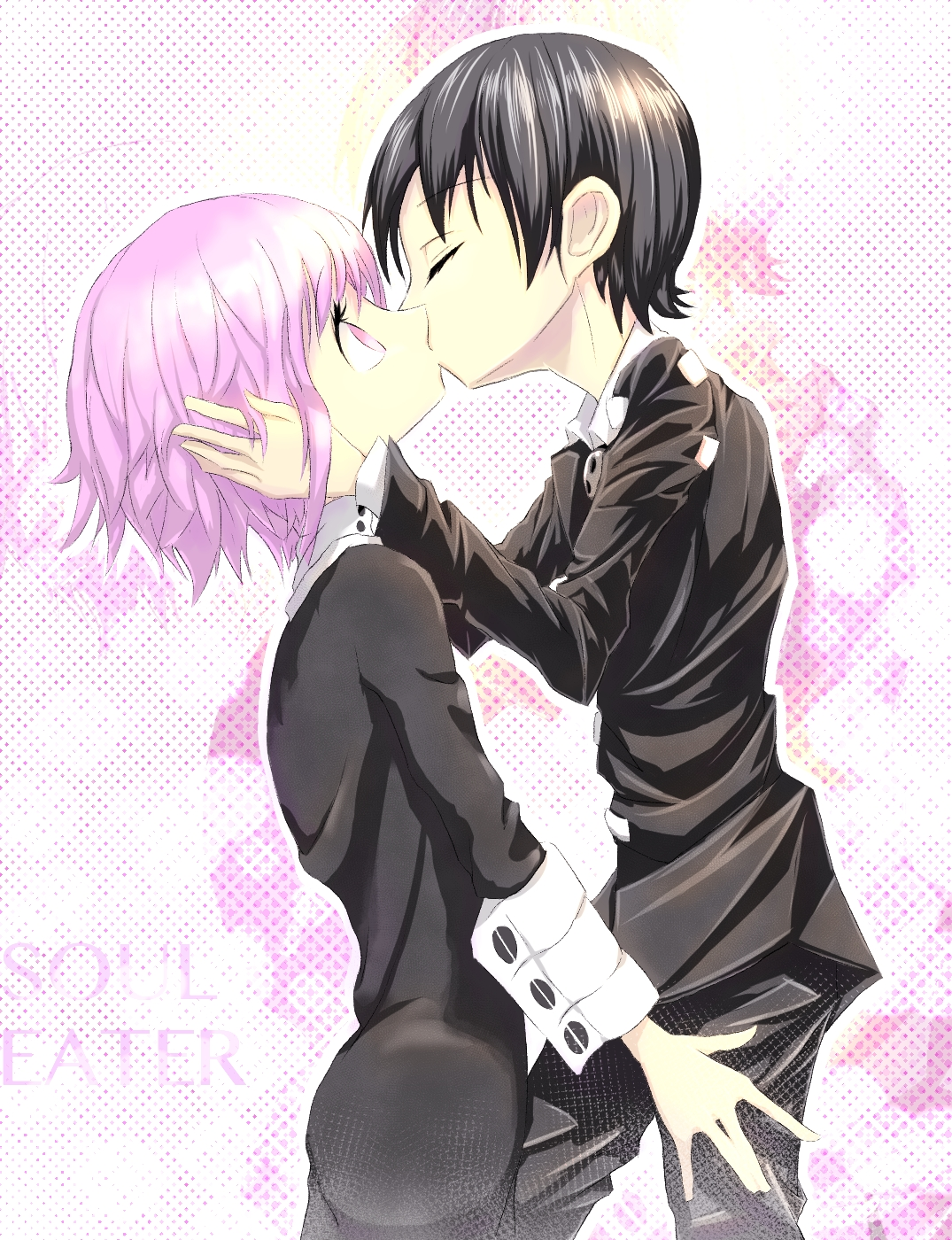 Anime Kids Kiss Soul Eater Kid Kisses Crona by