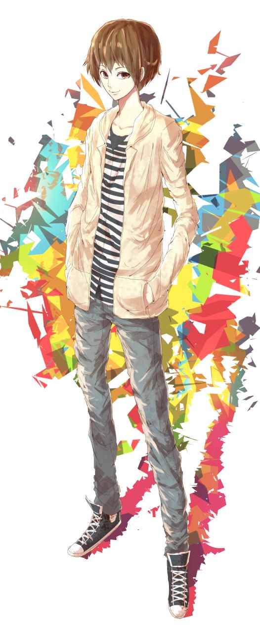 Some Random Anime Guy by MAR5HMA110W