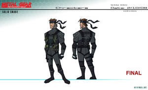 Metal Gear The Animated Series by E-Mann