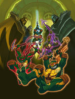 TMNT Ninja Tribunal DVD by E-Mann