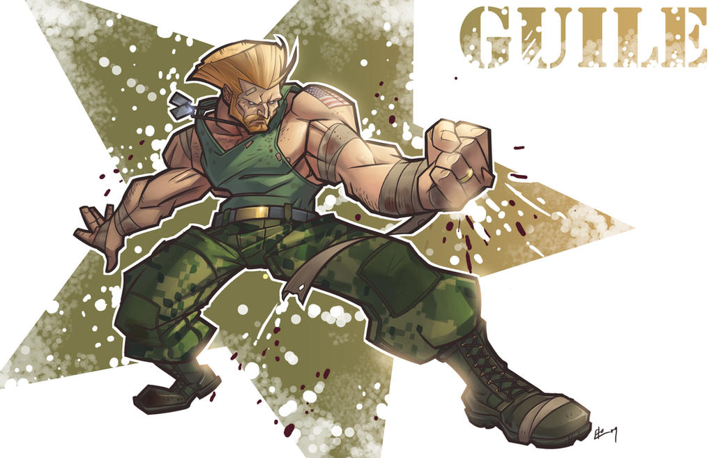 Grizzled Guile by E-Mann