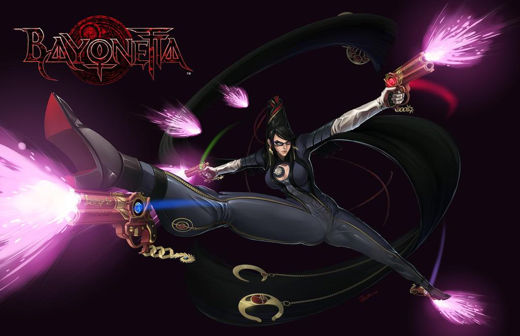 Bayonetta: Art Contest by E-Mann