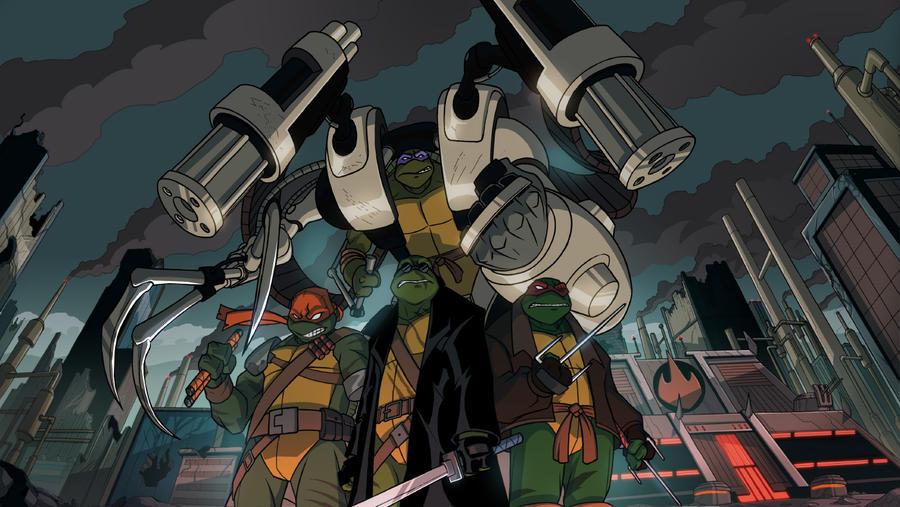 Turtles Forever: SAINW by E-Mann