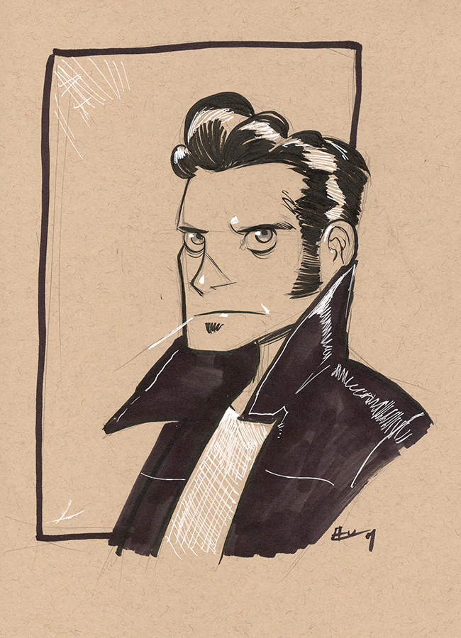 D+D:The Greaser by E-Mann