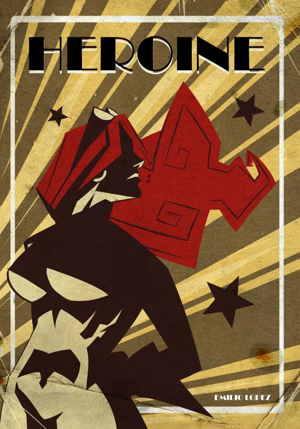 Heroine Cover by E-Mann