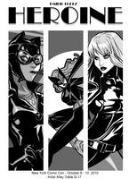 Heroine Preview DC Ladys by E-Mann