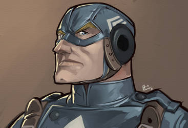 Captain America by E-Mann