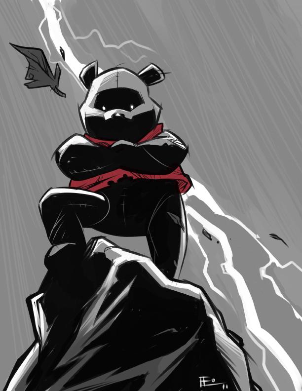 Silly Old Bear by E-Mann
