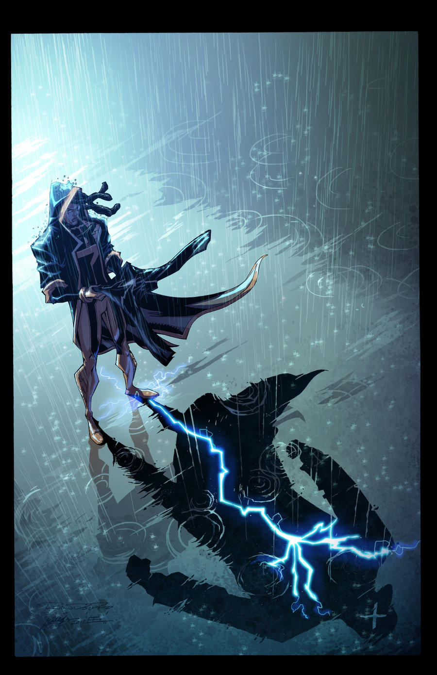 Static Shock 8:Cover by E-Mann