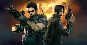 Resident Evil 6 Painting