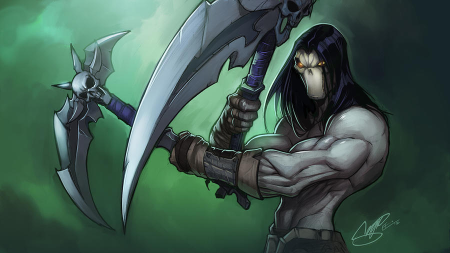 Darksiders II : Death by E-Mann on DeviantArt