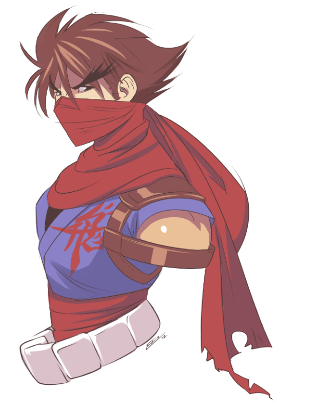 Strider Hiryu Bust by E-Mann