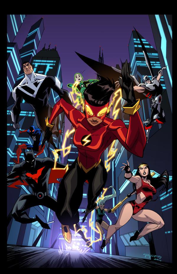Justice League Beyond 19 by E-Mann