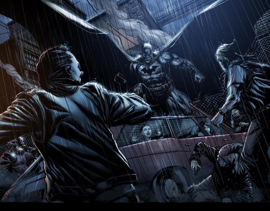 Detective comics Test 2 by E-Mann