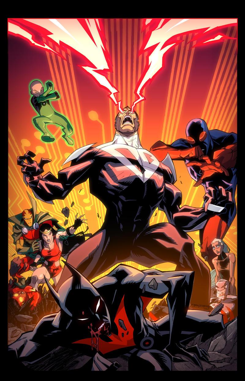 Batman Beyond Universe #2 by E-Mann