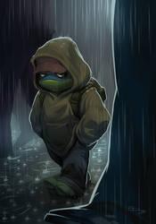 Sad Turtles by E-Mann