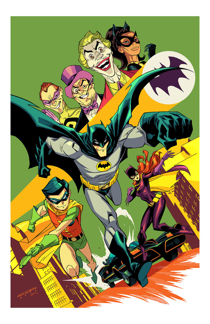 1966 Batman by E-Mann