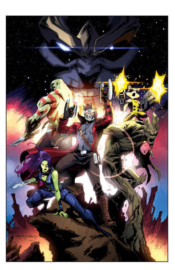 Guardians of the Galaxy by E-Mann