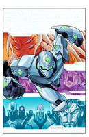 Cover: Tech Jacket TPB Vol: 3 by E-Mann