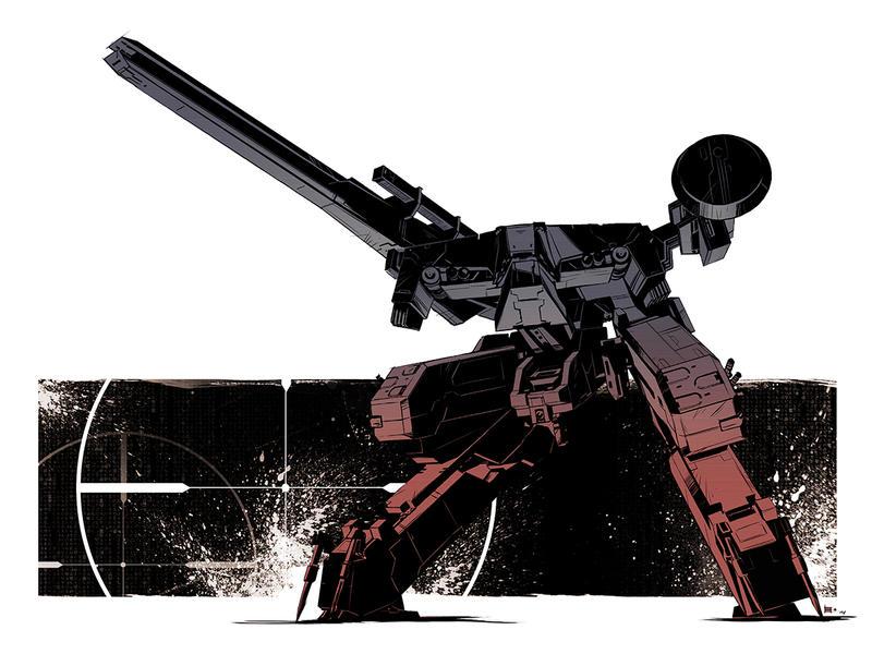 Metal Gear Rex by E-Mann