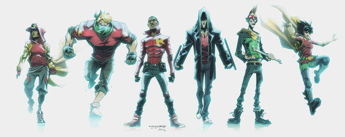 WE ARE ROBIN: Character Line Up