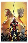 Cover: Civil War II: Amazing Spider-Man #1