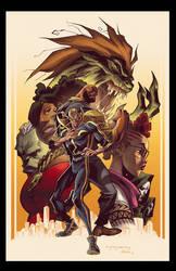 Powerman Iron Fist 5 Variant Cover