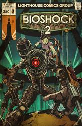 BioShock 2 Vintage Comic Cover