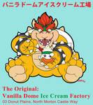 The Original: Vanilla Dome Ice Cream Factory