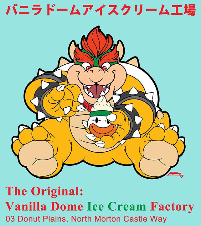 The Original: Vanilla Dome Ice Cream Factory by E-Mann