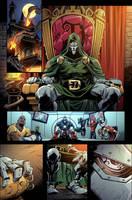 VENOMVERSE: WAR STORIES 1 page by E-Mann