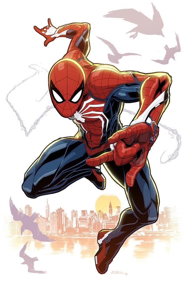 Spider-Man PS4 by E-Mann