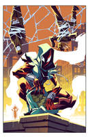 Cover Ben Reilly: Scarlet Spider 14A by E-Mann