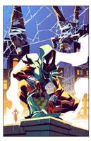 Cover Ben Reilly: Scarlet Spider 14b by E-Mann