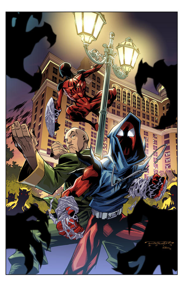 Cover Ben Reilly: Scarlet Spider 16 by E-Mann