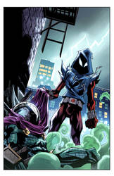 Cover Ben Reilly: Scarlet Spider 18 by E-Mann