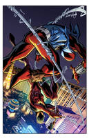 Cover Ben Reilly: Scarlet Spider 24 by E-Mann
