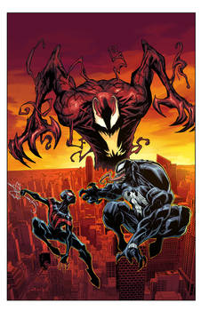 Cover ABSOLUTE CARNAGE MILES MORALES #1