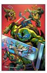 Cover Power Rangers/Teenage Mutant Ninja #4