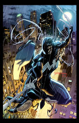 Cover SYMBIOTE SPIDER-MAN KING IN BLACK #1 Variant