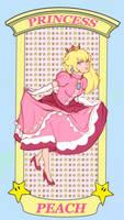 Princess Peach by Hero-Saintless