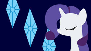 Rarity Wallpaper by destroyer735