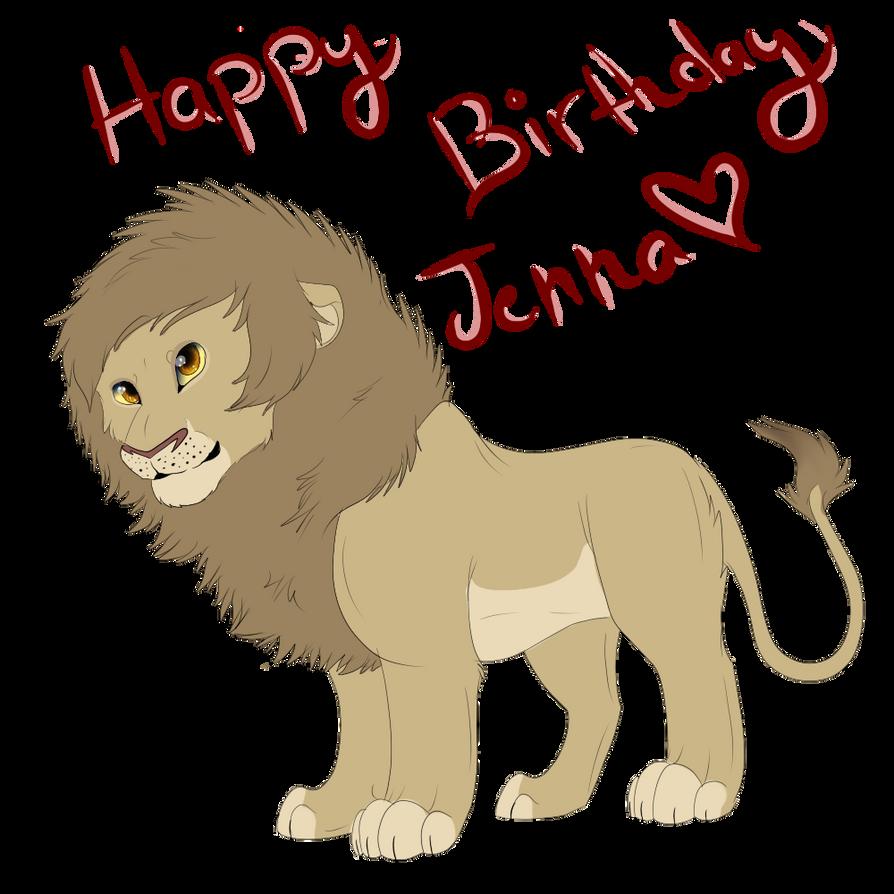Happy Birthday Jenna by lolpeaceoutlol